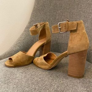 Urban Outfitters Suede Heels